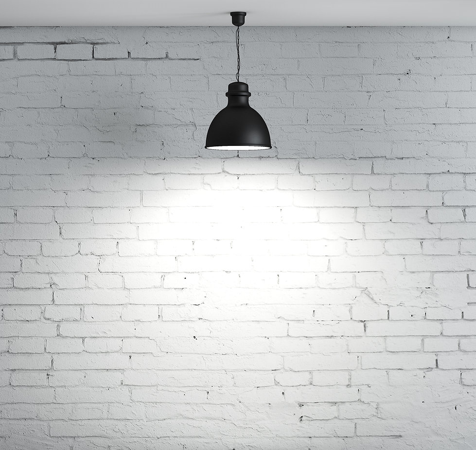 brick wall and ceiling lamp.jpg