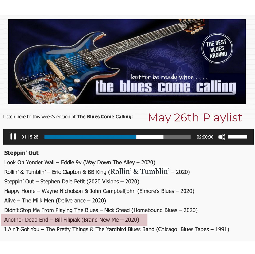Blues Come Calling