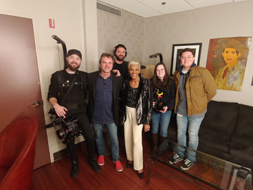 Backstage with Dionne Warwick