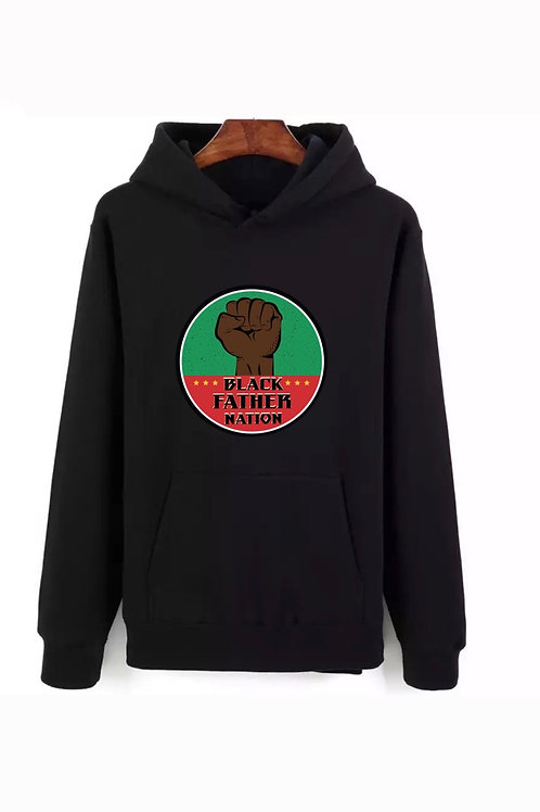 Black Father Nation X Black History Month Hoodie.