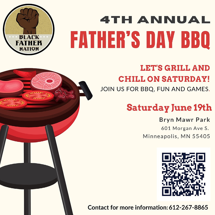 4th Annual Father's Day BBQ By Black Father Nation