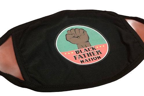 Black Father Nation Washable Face Mask