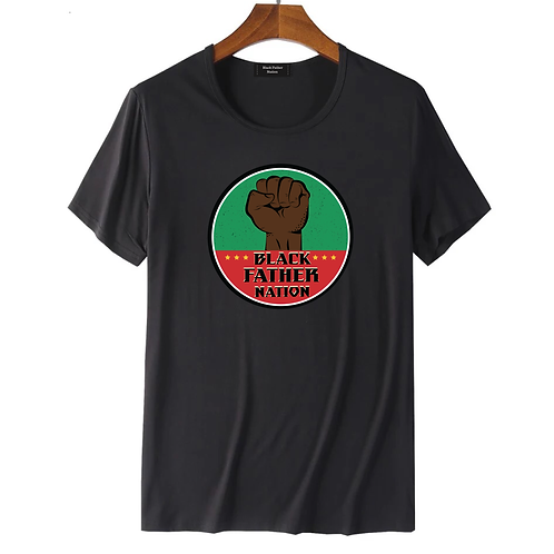 Black Father Nation X Black History Month T-shirt.