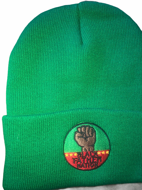 Black Father Nation x Black History Colors Beanie Hat