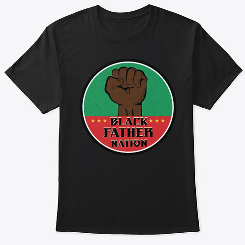 BLACK FATHER NATION LOGO TEE