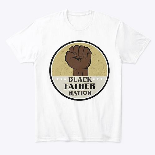 Black Father Nation Signature Logo T-shirt