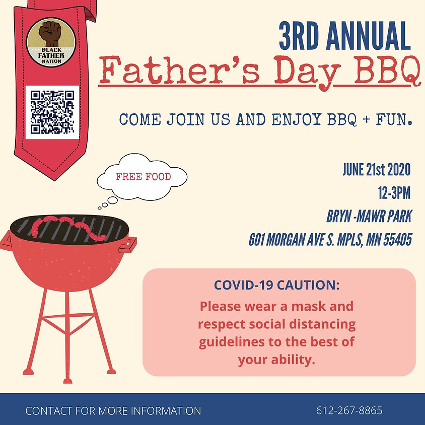 3rd Annual Black Father Nation Father's Day BBQ