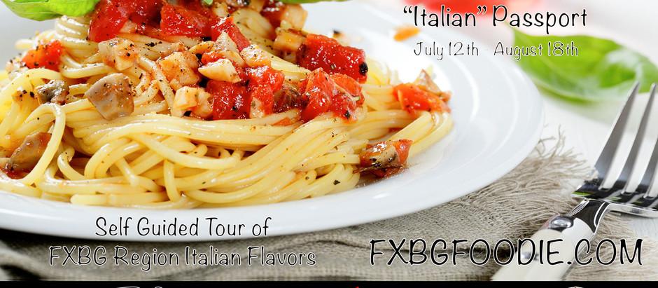 #FXBGFoodie Italian Passport