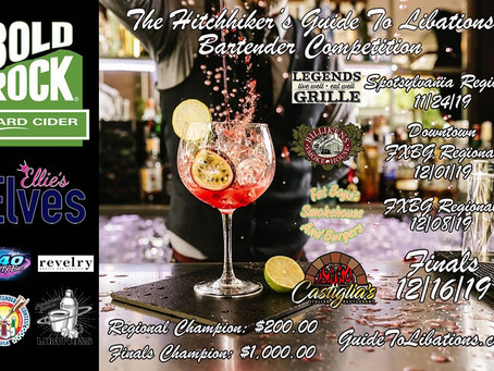 Guide to Libations Bartender Competition