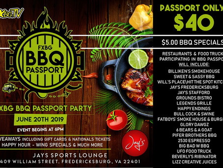 #FXBGFoodie BBQ Passport Launch Party