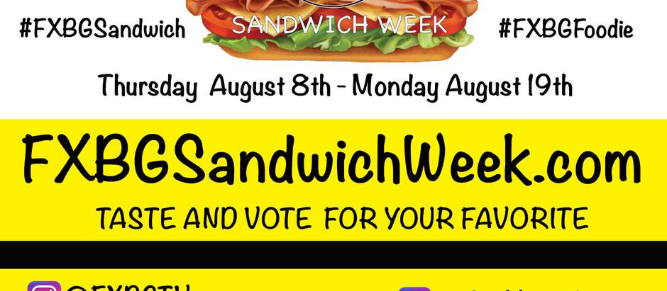 FXBG Sandwich Week 2019