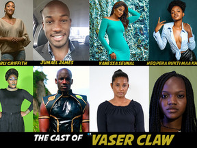 Vaser Claw the series reveal main cast