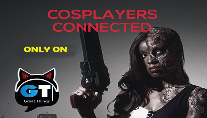 Cosplayers Connected Poster