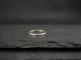 Fine Half-Round Ring