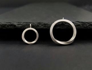 Silver Möbius Pendant