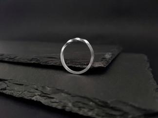 Silver Möbius Ring