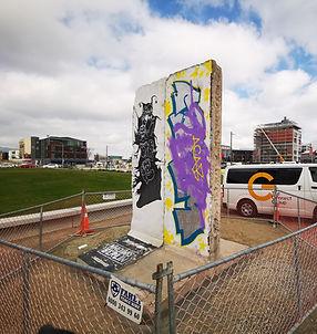 Berlin Wall, Christchurch City, Art, World War II, Rauora Park, East Frame