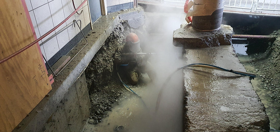 The Connect Group hydrodemolition