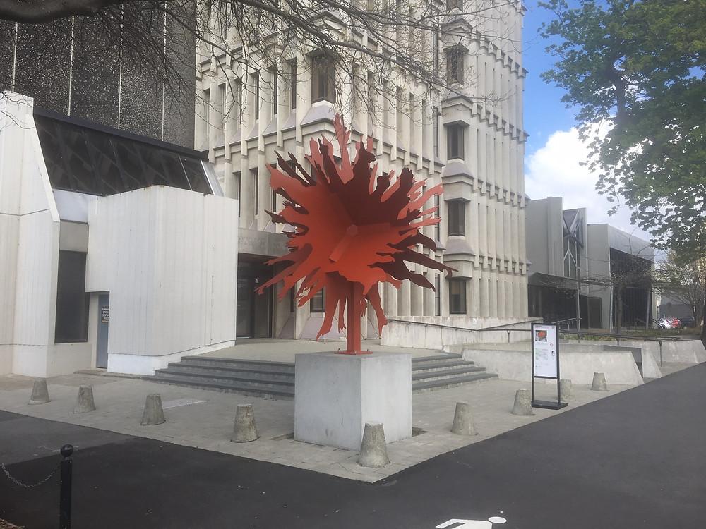 Scape Public Art - Christchurch, New Zealand. Arc Spraying, Galvanising, Painting