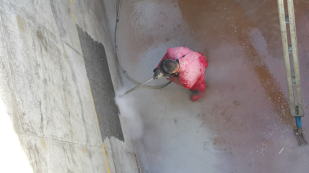 Ultra High Pressure Waterblasting Christchurch
