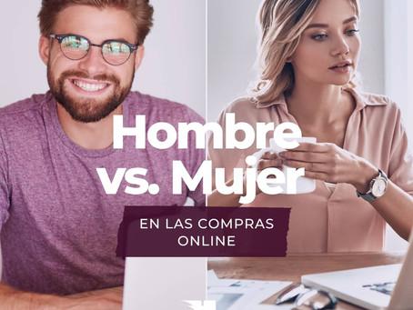Mujer vs hombre: ¿Quién compra más en internet?