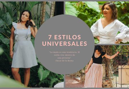 7 Estilos Universales