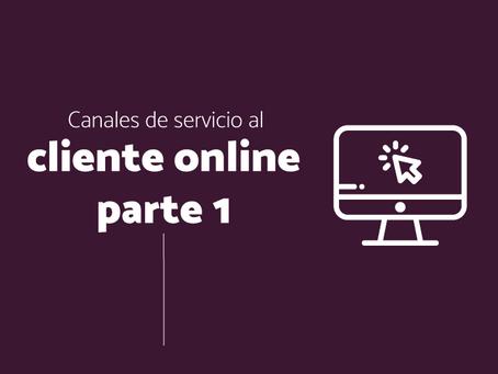 Canales de servicio al cliente online parte 1