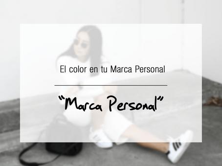 El color en tu Marca Personal