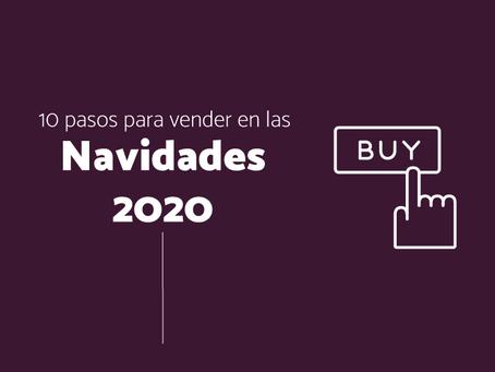 10 pasos a seguir para aumentar las ventas de tu empresa en las navidades 2020.