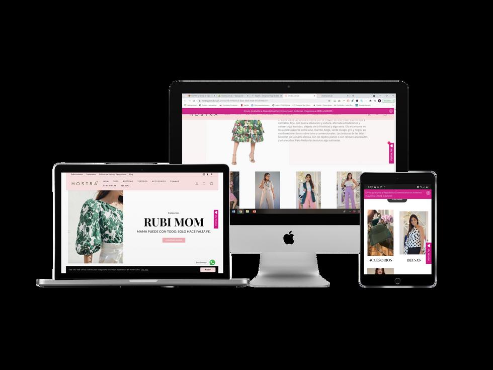 Tienda online Mostra