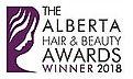 Winner Logo  Alberta Hair  Beauty Awards