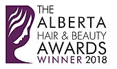 Winner Logo  Alberta Hair  Beauty Awards