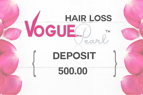 DEPOSIT / VOGUEPEARL™ FOR HAIR LOSS
