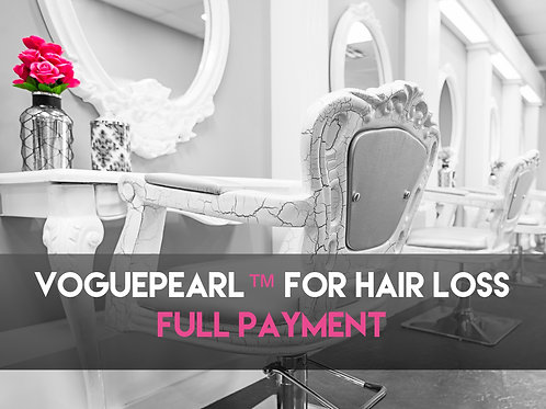 VOGUEPEARL™ FOR HAIR LOSS - END PAYMENT