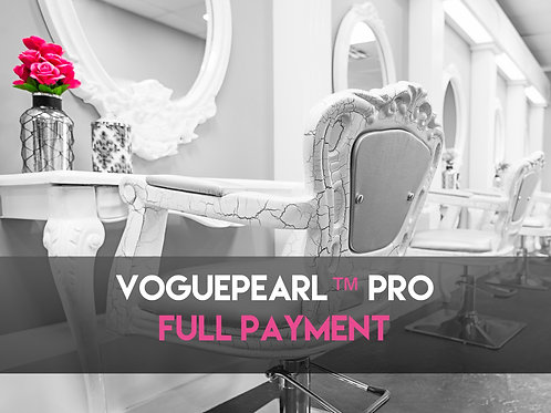 VOGUEPEARL™ PRO END PAYMENT