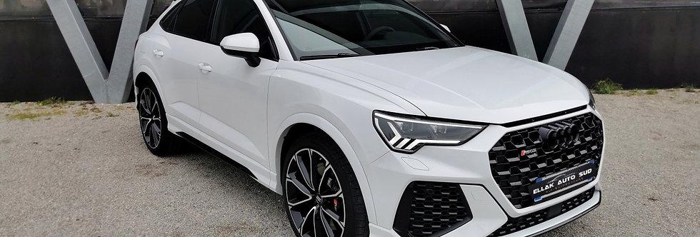 Audi RSQ3 sportback 2.5 TFSI Quattro 400 cv white