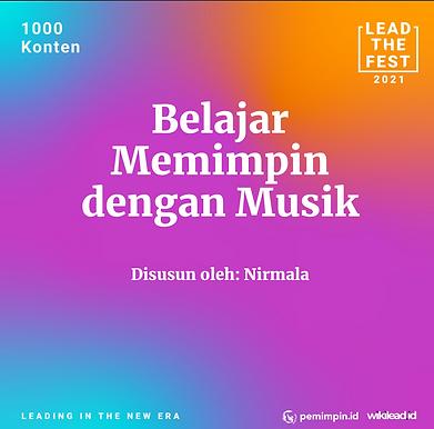 Belajar  Memimpin  dengan Musik