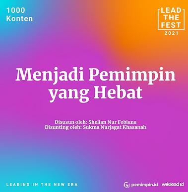 Menjadi Pemimpin  yang Hebat