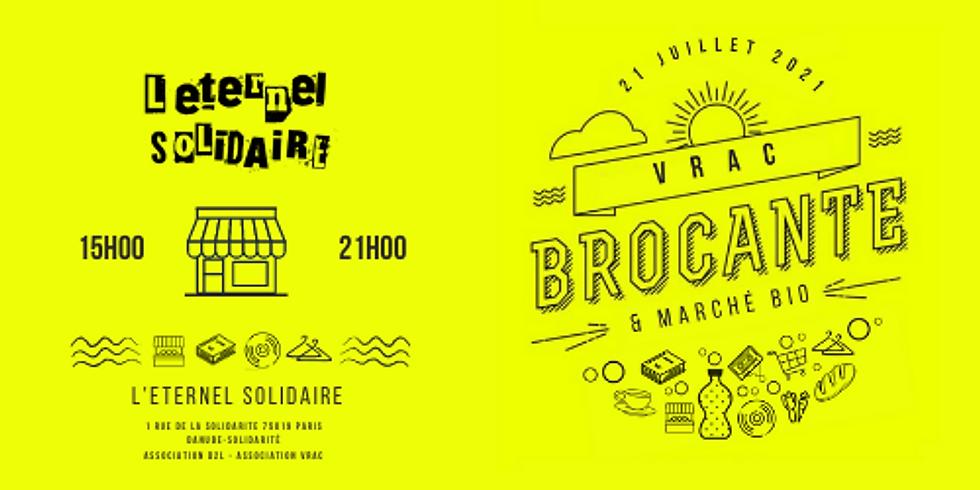 Brocante & Marché bio avec VRAC