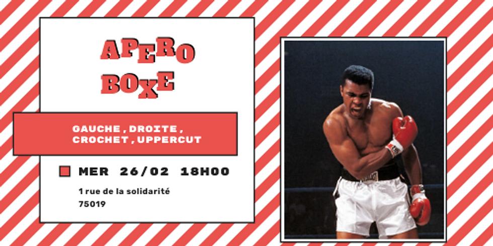 🥊 Apéro Boxe #3 : Gauche, droite, crochet, uppercut 🥊