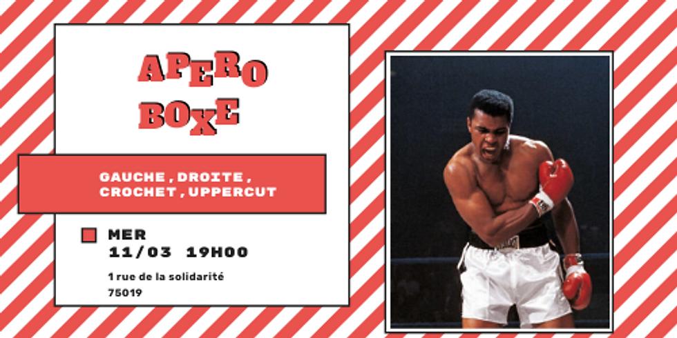 🥊 Apéro Boxe #3 : Gauche, droite, crochet, uppercut.