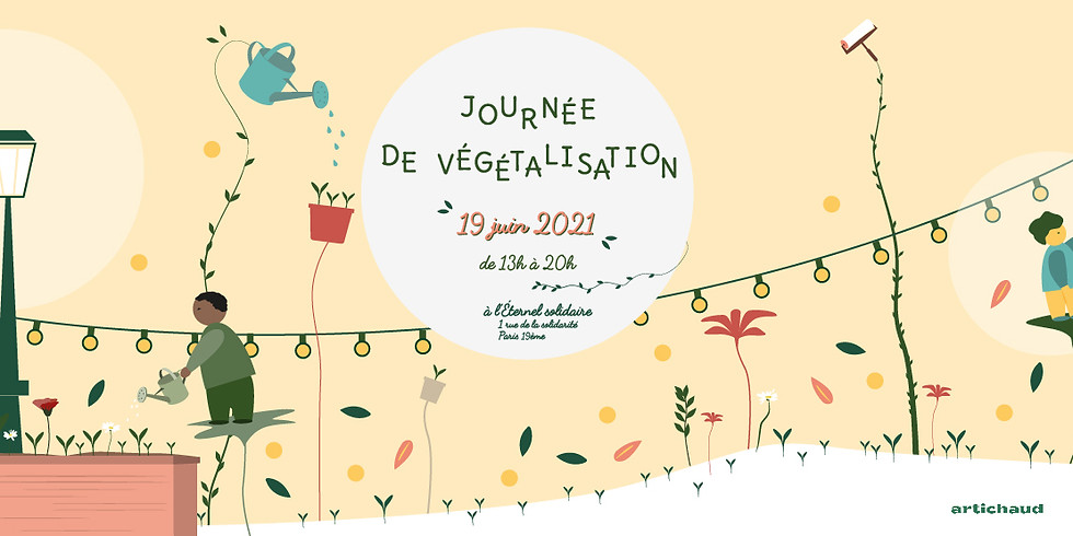 Végétalisons la Rue de la Solidarité !