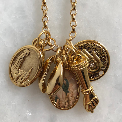 Colar Amuletos