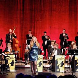 Die Dresden Big Band & Michael Winkler bei den Dresdener Jazztagen, Foto: Dan Baron
