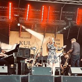 Die Dresden Big Band & Michael Winkler bei den Dresdener Kulturinseln, Foto: Holger May