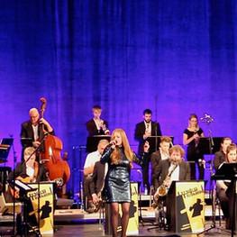 Die Dresden Big Band & Michael Winkler bei den Jazztagen Dresden, Foto: Dan Baron