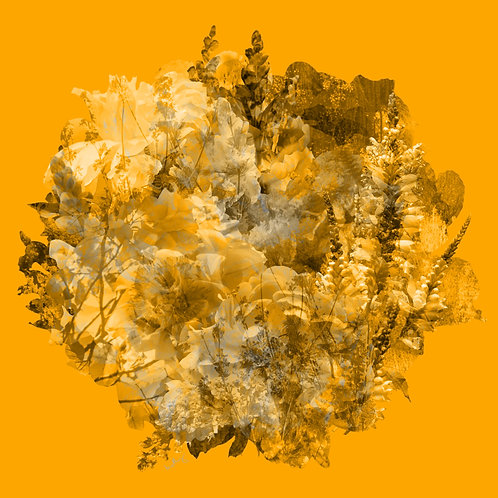 Yellow Floral Overlay