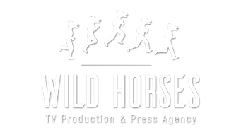 LOGO - WILD HORSES [INTERNATIONAL]-BLANC