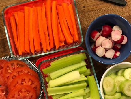 Preparing For Weekly Lunches and Other Meals       Home Organization Challenge-Day 14