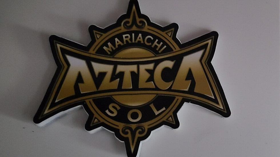 Mariachi Sol Azteca Decal